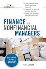 Finance for Nonfinancial Managers, Second Edition (Briefcase Books Series) (Business Books)
