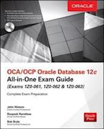 OCA/OCP Oracle Database 12c All-in-One Exam Guide (Exams 1Z0-061, 1Z0-062, & 1Z0-063) af John Watson