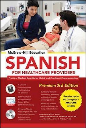 Bog, ukendt format McGraw-Hill Education Spanish for Healthcare Providers, Premium af Joanna Rios
