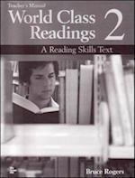 World Class Readings Level 2 Teacher's Manual with Answer Key (World Class Readings)