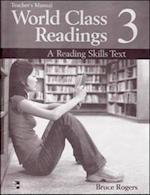 World Class Readings Level 3 Teacher's Manual with Answer Key (World Class Readings)