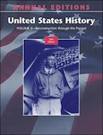 Annual Editions (Annual Editions United States History Vol 2)