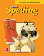 SRA Spelling, Student Edition - Continuous Stroke (hardcover), Grade 2 (SRA Spelling)