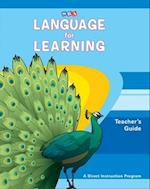 Language for Learning, Teacher Guide af McGraw-Hill Education