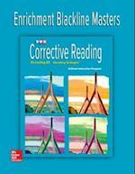 Corrective Reading Decoding Level B1, Enrichment Blackline Master (Read to Achieve)