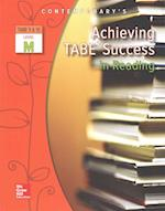 Achieving Tabe Success in Reading, Level M Workbook (Achieving Tabe Success for Tabe 9 10)