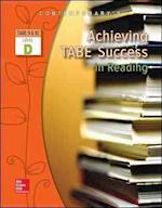 Achieving Tabe Success in Reading, Level D Workbook (Achieving Tabe Success for Tabe 9 10)
