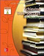 Achieving Tabe Success in Reading, Level a Workbook (Achieving Tabe Success for Tabe 9 10)