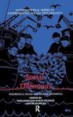 Social Dilemmas : Theoretical Issues and Research Findings