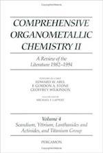 Scandium, Yttrium, Lanthanides and Actinides, and Titanium, Zirconium, and Hafnium (Comprehensive Organometallic Chemistry II S)