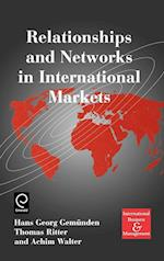 Relationships and Networks in International Markets af Achim Walter, Thomas Ritter, H G Gemunden