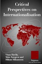 Critical Perspectives on Internationalisation (International Business and Management)