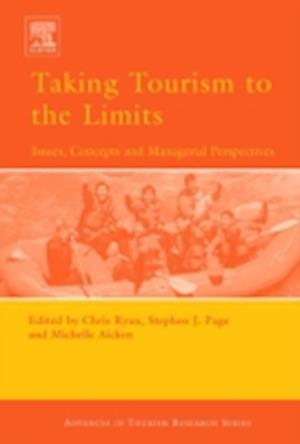 Bog, hardback Taking Tourism to the Limits af Stephen J Page, Chris Ryan, Michelle Aicken