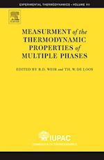 Measurement of  the Thermodynamic Properties of Multiple Phases (EXPERIMENTAL THERMODYNAMICS)
