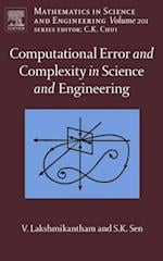 Computational Error and Complexity in Science and Engineering (MATHEMATICS IN SCIENCE AND ENGINEERING)