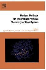 Modern Methods for Theoretical Physical Chemistry of Biopolymers