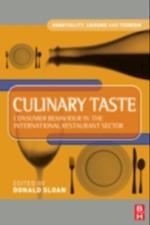 Culinary Taste (Hospitality, Leisure and Tourism)