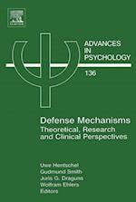 Defense Mechanisms (ADVANCES IN PSYCHOLOGY)