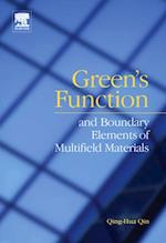 Green's function and boundary elements of multifield materials