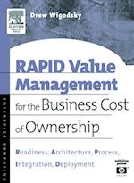 RAPID Value Management for the Business Cost of Ownership (HP Technologies)