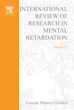 International Review of Research in Mental Retardation (International Review of Research in Mental Retardation)
