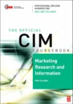 CIM Coursebook 06/07 Marketing Research and Information