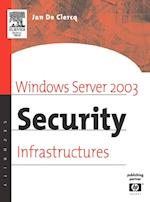 Windows Server 2003 Security Infrastructures (HP Technologies)