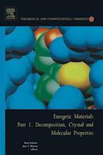 Energetic Materials (Theoretical And Computational Chemistry)