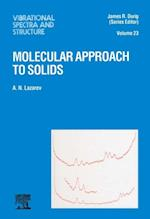 Molecular Approach to Solids (VIBRATIONAL SPECTRA AND STRUCTURE)