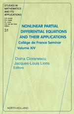 Nonlinear Partial Differential Equations and Their Applications (STUDIES IN MATHEMATICS AND ITS APPLICATIONS)