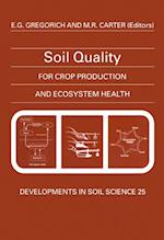 Soil Quality for Crop Production and Ecosystem Health (DEVELOPMENTS IN SOIL SCIENCE)