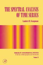 Spectral Analysis of Time Series (PROBABILITY AND MATHEMATICAL STATISTICS)