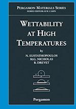 Wettability at High Temperatures (Pergamon Materials Series)
