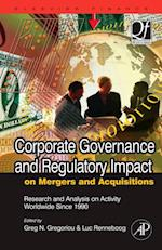 Corporate Governance and Regulatory Impact on Mergers and Acquisitions (Quantitative Finance)