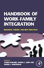 Handbook of Work-Family Integration