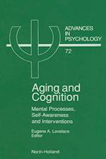 Aging and Cognition (ADVANCES IN PSYCHOLOGY)
