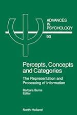 Percepts, Concepts and Categories (ADVANCES IN PSYCHOLOGY)