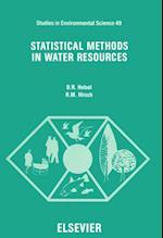 Statistical Methods in Water Resources (STUDIES IN ENVIRONMENTAL SCIENCE)