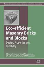 Eco-Efficient Masonry Bricks and Blocks: Design, Properties and Durability