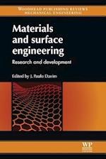 Materials and Surface Engineering (Woodhead Publishing Reviews Mechanical Engineering Series)
