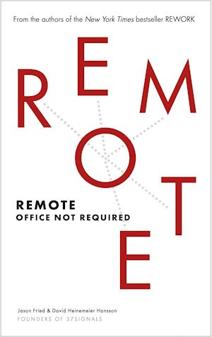 Bog, paperback Remote af Jason Fried
