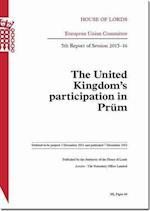 United Kingdom's Participation in Prum