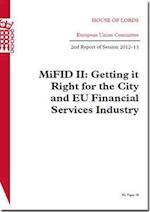 MiFID II (HL Paper, nr. 28)