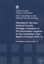 Planning for the Next National Security Strategy