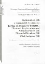 8th Report of Session 2012-13