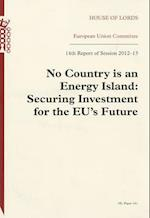 No Country Is an Energy Island