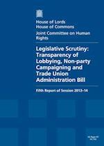 Legislative Scrutiny
