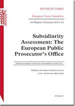 Subsidiarity Assessment