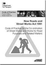 Code of Practice for the Co-ordination of Street Works and Works for Road Purposes and Related Matters