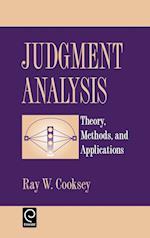 Judgement Analysis